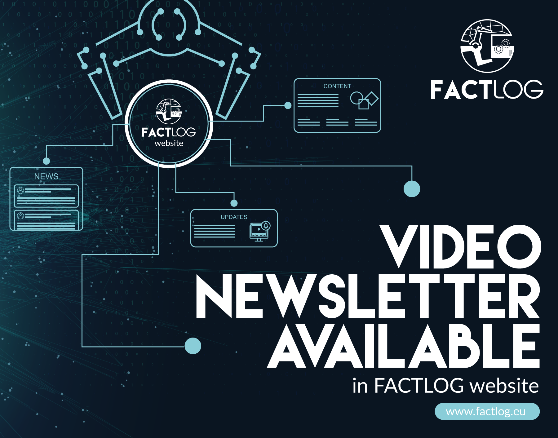 Newsletter #1: FACTLOG Project Vision